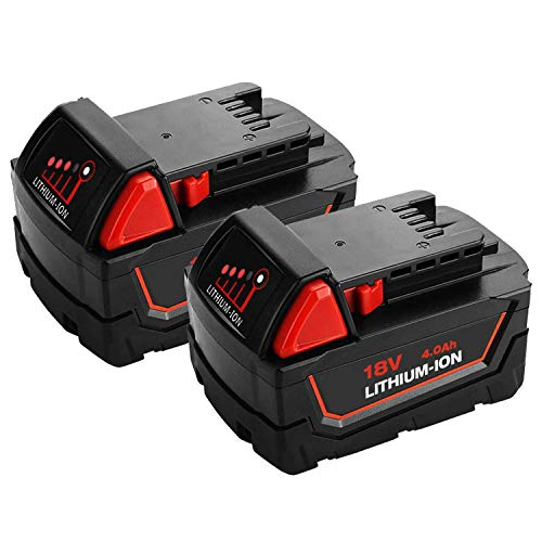 Lumsing AA Rechargable Batteries 4-Pack High Capacity AA 2850mAh Ni-MH with Battery Storage Box ()