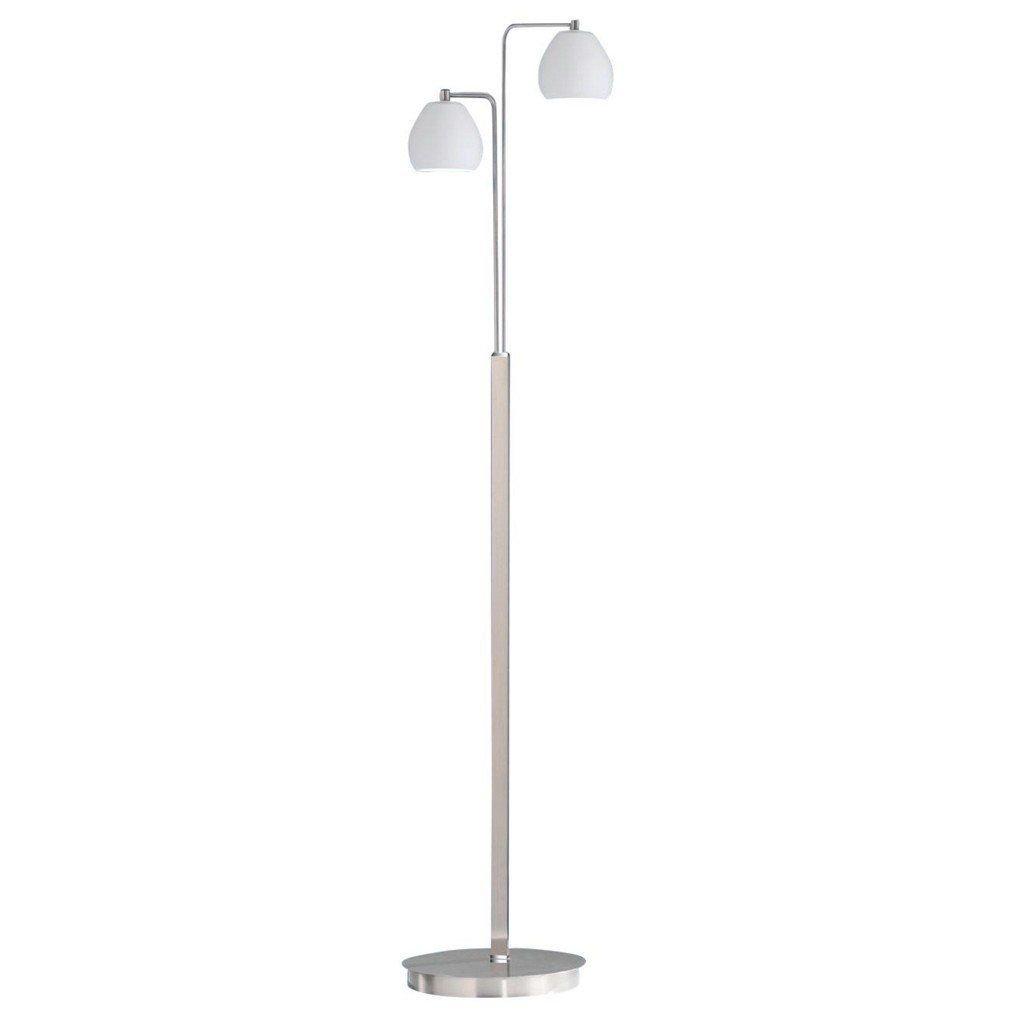 LED Stehleuchte B-Leuchten Caliente 60177 60177 60177 2.92 Opal-Glas dimmbar Leselicht 2x 6 Watt 950 Lumen 3000 Kelvin b6eb90