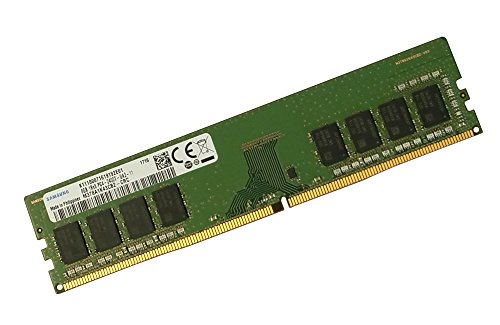 SAMSUNG 8GB DDR4 PC4-19200, 2400MHZ, 288 PIN DIMM, 1.2V, CL 15 desktop RAM MEMORY MODULE M378A1K43CB2-CRC by Samsung