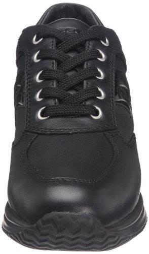 Geox D Happy B - Zapatillas Mujer Negro (Black)