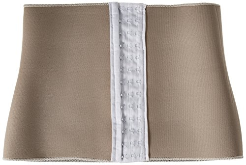 Z-COMFORT Women's Waist Cincher with Three Rows of Hooks, Nude, Small/Medium from Z-Comfort