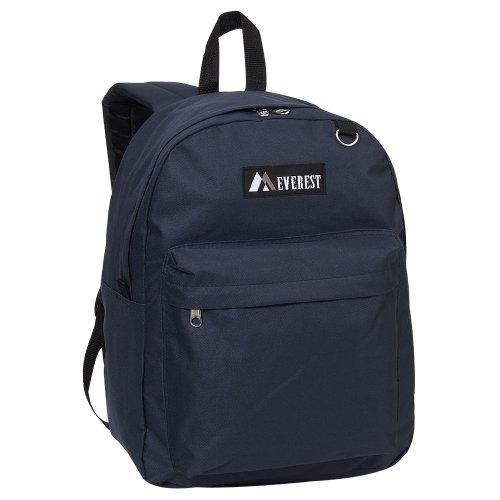Everest Luggage Classic Backpack, Navy, Large (Backpack Dollar)
