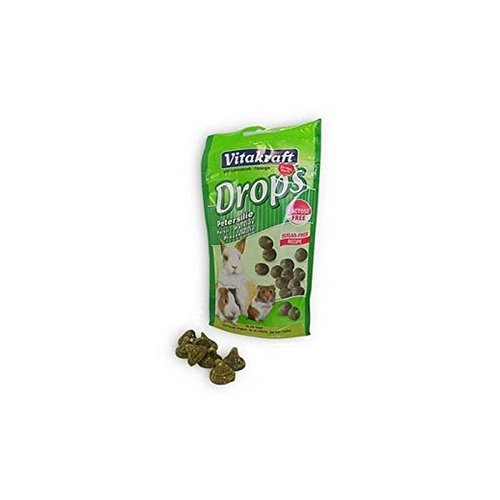 (Vitakraft Drops Parsley Small Animal Treat (75g) (Pack of 4))