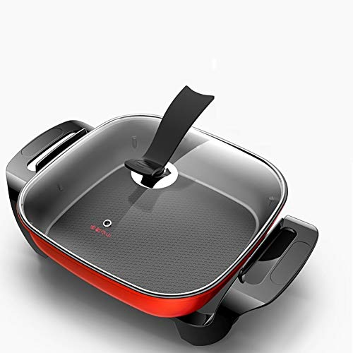 ZYFWBDZ Home & Kitchen Household Multifunctional Electric Cooker 220v Skillet Frying Pan Pancake Maker for Boiling/Steaming/stewing/braising ()