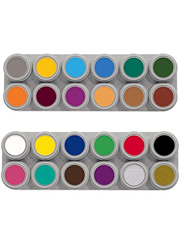 Grimas 24 Colour Face Painting Palette by Grimas