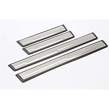 Outside OLIKE for Toyota Corolla 2014-2020 Stainless Steel Door Sill Scuff Plate Guard Sills Protector Trim