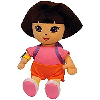 ce903e9019d Amazon.com  Ty Beanie Baby Dora the Explorer (Styles and Colors may ...