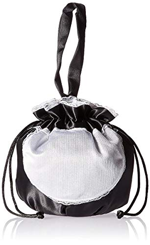 Rasta Imposta French Maid Pouch, Black, One