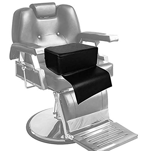 Amazon.com: Beauty Salon Spa Equipment Styling Barber Chair Child Booster Seat Cushion, Highchairs Auxiliary Heightening Seats Cushion for Baby & Kids Black ...