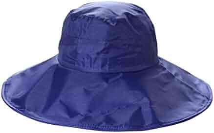 9b955ea48e535 Women s Rain Hats Waterproof Rain Hat Wide Brim Bucket Hat Rain Cap Sun Hats