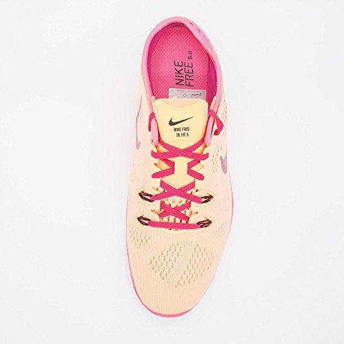 Nike Donne Libera 5.0 In Esecuzione Scarpa Da Tennis Tramonto Bagliore / Fireberry-rosa-nero Pow