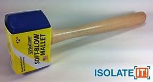 Sorbothane - Mazo para automoción, ebanistería, carpintería y vidrio (tamaño mediano, 340g)