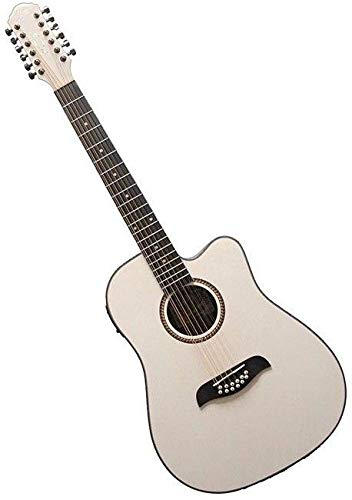Oscar Schmidt OD312CEWH-A 12-String Cutaway Acoustic Electric