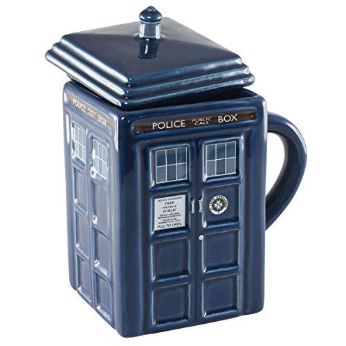 Doctor Who Figural Tardis Mug, 17 oz