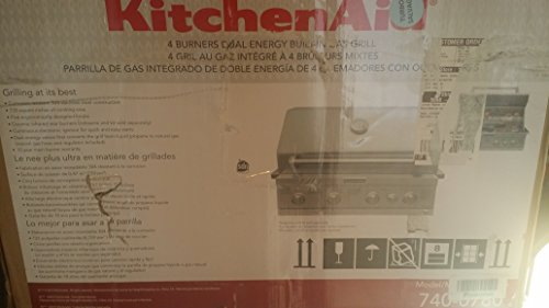 kitchenaid built in gas grill - 2