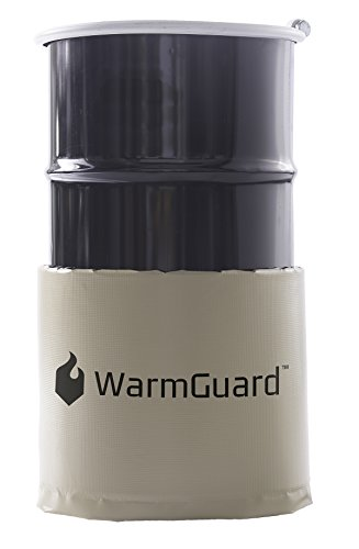 WarmGuard WG15 Insulated Drum Band Heater - Barrel Heater, Fixed Internal Thermostat Max Temp 145 F