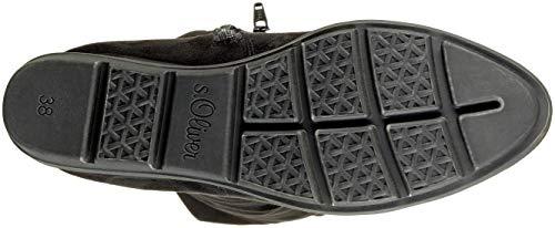 Stivali 001 black oliver S Donna 25608 5 21 Nero 5 1 Alti xwHqYq14X