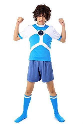 Alien Costume Comic Con (De-Cos Inazuma Eleven Team Diamond Dust Alien Academy Soccer Jersey)
