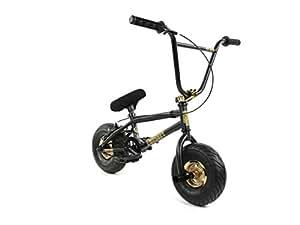 FatBoy Pro Mini BMX Bicycle, Black/Gold