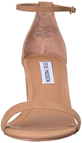 Steve Madden Women's Declairw Dress Sandal Camel Nubuck discount low price Y5o4ZHxAh