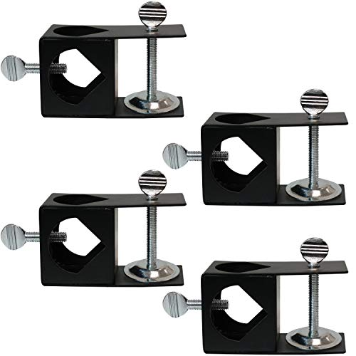 Sunnydaze Deck Clamp for Outdoor Torches, Set of 4