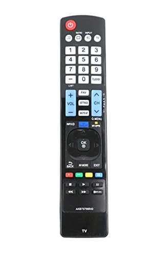 New Vinabty Replaced Remote Akb73756542 Fits For Lg Led Tv