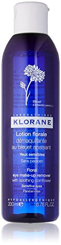 Klorane Eye Make-Up Remover with Soothing Cornflower  , 6.7 fl. oz.