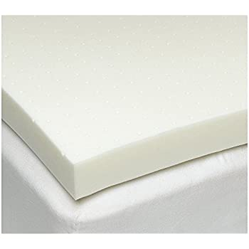 "SleepJoy 3"" ViscO2 Ventilated Memory Foam Mattress Topper, Queen"