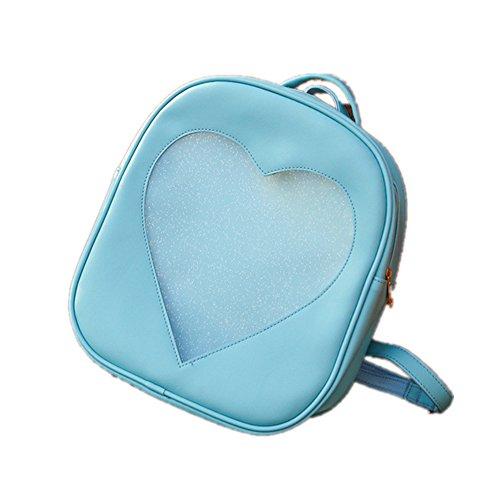 TOMATO-smile - Bolso mochila  para mujer Azul