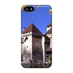High Quality Chateau De Chillon-montreux-switzerland Cases For Iphone 5/5s / Perfect Cases