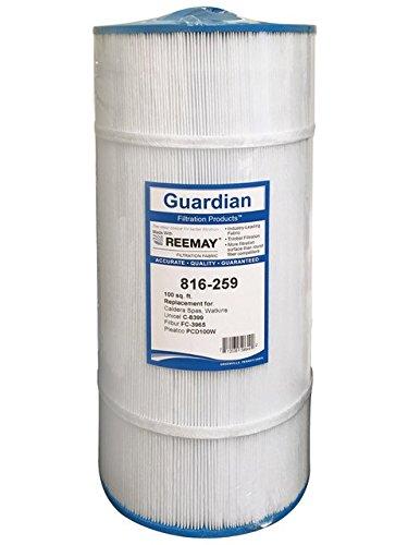 Guardian Spa Hot tub Filter Replaces Unicel c-8399 Pleatco PCD100W Filbur FC-3965