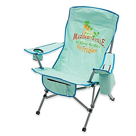Incredible Margaritaville Camp Chair In Green Blue Gmtry Best Dining Table And Chair Ideas Images Gmtryco