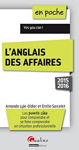 En poche Anglais des Affaires 2015/2016