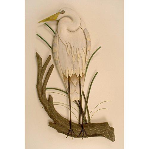 - White Heron Wall Hanging