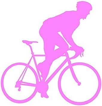 Cyclist Sticker Die Cut Decal road bike triathlon cycling