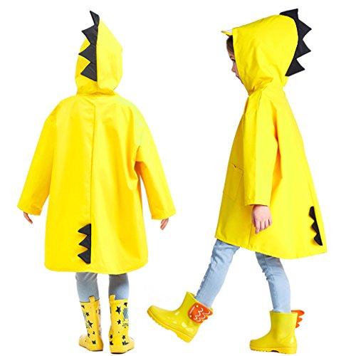 Zilee Niños Traje de Lluvia Chubasquero Niña Traje de Lluvia para Niños  Impermeable Pantalones Chubasquero Poncho 9134b5f34be