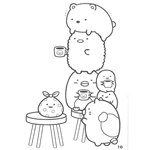2020 Other Images San X Coloring Pages