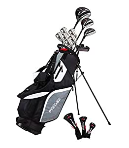 Amazon.com: Precise M5 Mens Complete Golf Clubs Package Set ...