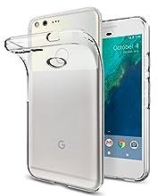 Spigen Liquid Crystal Designed for Google Pixel Case (2016) - Crystal Clear
