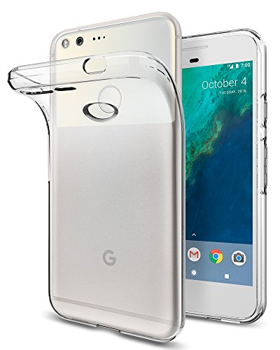 Spigen Liquid Crystal Designed for Google Pixel Case (2016) - Crystal Clear