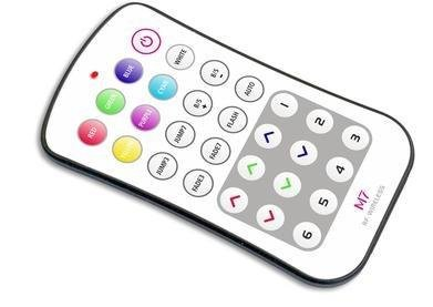 RGB remote M7 (pairs with M4-5A,M3-3A) by Wired4Signs USA