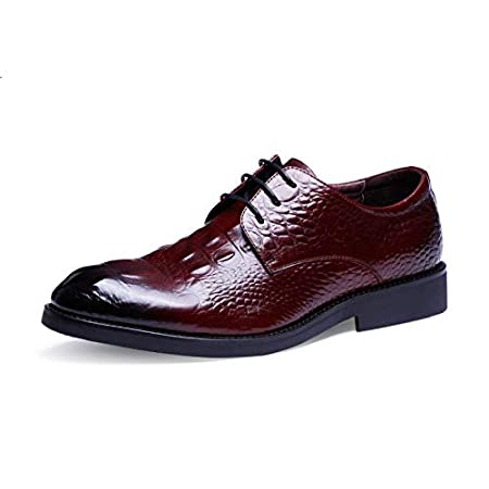 Ruanyi Scarpe da uomo di alta moda stile casual in pelle
