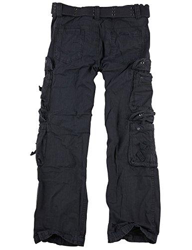 Surplus Royal Traveler Pantalon – Noir Royal, 60(4XL)