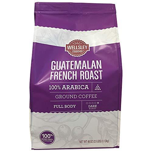 Wellsley Farms Guatemalan French Roast Ground Coffee, 40 - Farm French