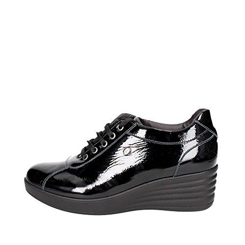 Keys 1027 Niedrige Sneakers Damen Schwarz