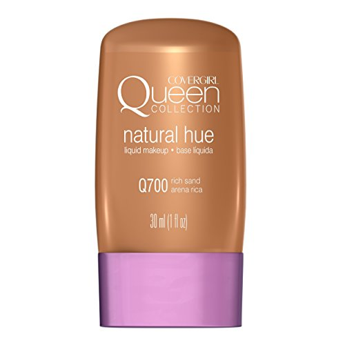 COVERGIRL Queen Natural Hue Liquid Makeup Rich Sand 700, 1 oz (packaging may vary)