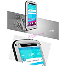 Silver NEW Waterproof Shockproof Aluminum Gorilla Glass Metal Military Heavy Duty Armor Bumper Cover Case for LG G4 @CoolWind