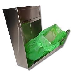 S.A.C TD9200 22 Gauge Steel Sanitary Napkin/Tampon Medium Disposal Bin, 12\