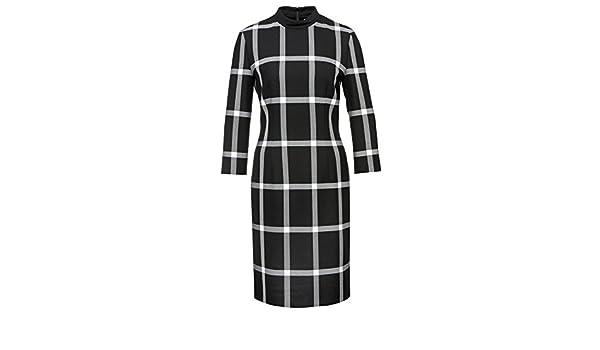 BOSS Hugo Vestido - para Mujer Schwarz (960) 38: Amazon.es: Ropa y accesorios