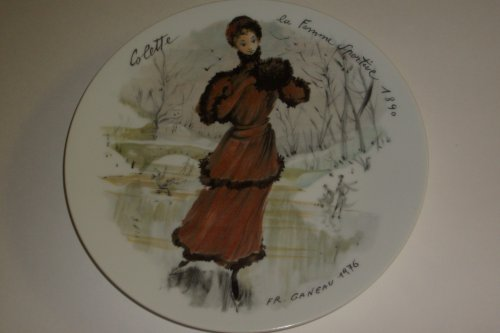 Limoges Women of the Century Colette the Sportswoman of 1890 Collector